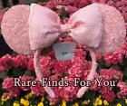 Disney Parks Minnie Mouse Millennial Pink Sequined Ears Headband NEW WITH TAGS