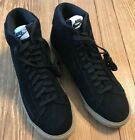 NEW MENS NIKE BLAZER MID BLACK GUM LIGHT BROWN PREMIUM SNEAKER SZ 95