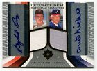 2004 Ultimate Materials Signature GAYLORD PERRY PHIL NIEKRO Dual Auto Jersey 25