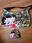 BETTY BOOP Silver Shoulder Bag AND Matching Purse