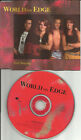 WORLD ON EDGE Still Breathing PROMO DJ CD single 1990 USA seller ROXETTE TOUR