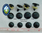 12 Pair 13mm To 17mm Flat Round Black Safety Eyes Nose Button No Pupil Rbe-1