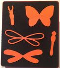 Sizzix Large Red Original Die Cutter PAPER SCULPTING BUTTERFLY