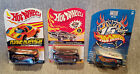 3 Great HOT WHEELS Convention Nationals  RLC Drag Busses with Real Rider Tire