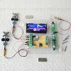 2 x HO railway crossing signals + control system by train automatically detector