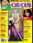 MOTLE CRUE VINCE NEIL CENTER FOLD POSTER KISS TWISTED SISTER BILLY SQUIER CIRCUS