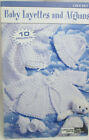 Leisure Arts Little Book Baby Layettes and Afghans 10 Projects to Crochet