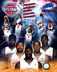 Detroit Piston 2005/06 NBA Team Licensed Unsigned 8x10 Glossy Photo A2