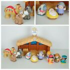 Fisher Price Little People Nativity Set 2001 12 pieces