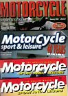 Various Issues of MOTORCYCLE SPORT & LEISURE Magazine from 1996 to June 2018