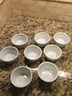 Lot Of 8 VERTEX Custard Thick Wall Cups