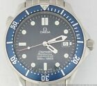 Omega Seamaster Automatic Chronometer Date Stainless Steel 41mm Mens Wrist Watch