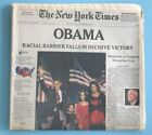 The New York Times OBAMA Wed Nov 5 2008 RACIAL BARRIER FALLS Newspaper NYT