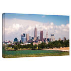 Cody York 'Cleveland Pano 2' Gallery-wrapped Canvas