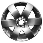 OEM Used 17X7 Alloy Wheel Sparkle Silver Full Face Painted 560 7055