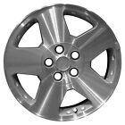 OEM Used 17X7 Alloy Wheel Sparkle Silver Textured with a Machined Face 560 07033