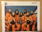 CREW OF SPACE SHUTTLE MISSION STS 107 COLUMBIA 2003 NASA 8 X 10 COLOR PHOTO