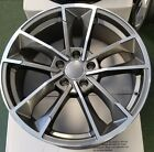 18 Wheels Fits Audi A3 A4 A5 A6 A8 18X80 +35 5X112 Set of 4 Rims