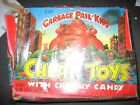 Garbage pail kids Cheap toys and Cruddy candy full box 24 Packs