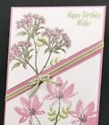 STAMPIN UP AVANT GARDEN Photopolymer Mount Stamp Set Set of 10 This is set