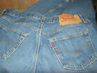 Vintage 1990s Levis 501 Made in USA Denim Blue Jeans 34 x 36 actual 32 x 35