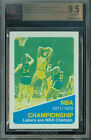 1972-73 TOPPS # 159 WILT CHAMBERLAIN PROOF BGS 9.5 SOLO FINEST GRADED UNIQUE 162
