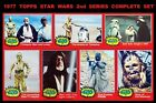 1977 Topps Star Wars 2nd Series (Red Borders) - Complete Set (66) - NM-MINT