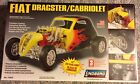 FIAT DRAGSTER / CABRIOLET MODEL KIT LINDBERG BIG 1/12 SCALE NEW SEALED LOOK!!