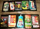 2018 Wacky Packages GoTo the Movies **Over-Sized Box Topper** Complete Set (10)