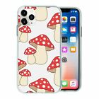Mushroom Pattern TPU Back Case Cover For Mobile Phone - S2465
