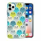 Seal Pattern TPU Back Case Cover For Mobile Phone - S2497
