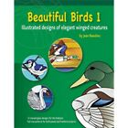 Stained Glass Pattern Book BEAUTIFUL BIRDS 1 Free Shipping