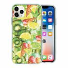 Fruit Salad Collage Pattern TPU Back Case Cover For Mobile Phone - S228