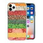 Mixed Fruit Veg TPU Back Case Cover For Mobile Phone - S303