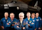 First  Last Space Shuttle Crews PHOTO Columbia Atlantis Missions Astronauts