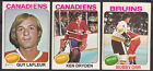 1975-76 O-PEE-CHEE HOCKEY CARD FULL SET 396 396