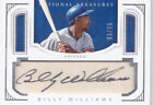 2016 National Treasures Billy Williams 25 Auto Parchment Signatures Cubs