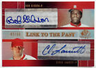 2004 SP Prospects BOB GIBSON CHRIS LAMBERT RC Link to the Past Dual Auto # 50