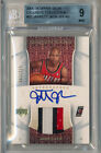 2005-06 Exquisite JARRETT JACK Auto Nameplate 3 Color Patch RC BGS 9 w 10 Auto
