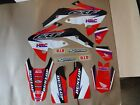 TEAM HONDA RACING GRAPHICS  CRF150R CRF150RB  LIQUID COOLED MODELS ONLY