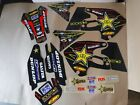 TEAM   ROCKSTAR GRAPHICS SUZUKI RM125 RM250  1999  2000   PTS2