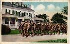 DR JIM STAMPS US POSTCARD 1918 GOVERNOR COTTAGE SEA GIRT NEW JERSEY SOLDIERS