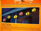 SCARY CAT EYES SPOOKY Outdoor/Indoor SET OF 6 LIGHTED STRING LIGHTS *LOT 3 boxes