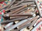 Old Rustic Primitive Lot of 36 Tin Tubes Think BOWL FILLERS Ohio Farm Fnd
