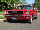 Mustang 1966 Ford Mustang 74,010 Miles Red Automatic