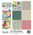 ECHO PARK PAPER CO MINI THEME DOG COLLECTION SCRAPBOOK PAPER  STICKERS KIT PET