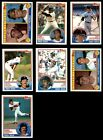 1983 Topps Boston Red Sox Almost Complete Team Set NM MT