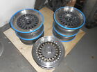 MG RV8 genuine alloy wheels and centres refurbished
