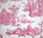 NEW AUTUMN STOCK, LARGE RARE 18th CENTURY FRENCH LINEN TOILE DE JOUYc1790 4.