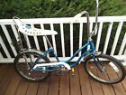 Schwinn Sting-Ray FAIR LADY Blue White Slik banana seat Girls bike CLEAN orig.